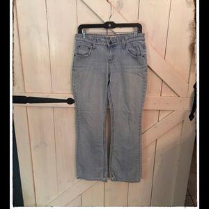 Levi's Misses Size Four Low Rise Boot Cut Jean